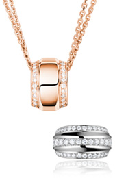 La Strada Chopard Jewelry Ring Pendant